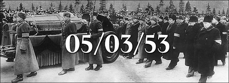 سمەرت ستالينا: پروەكت 05/03/53 | پراۆا چەلوۆەكا ۆ روسسي