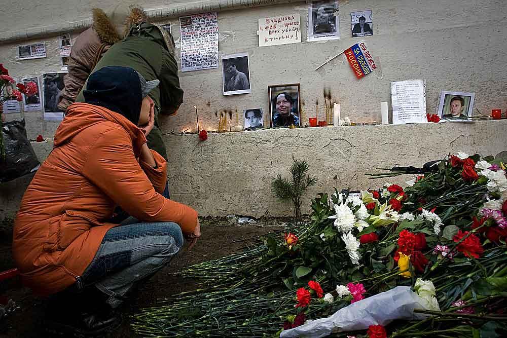Акция памяти Стаса Маркелова и Насти Бабуровой в Москве