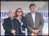 Слева направо: Салават Низамутдинов, Ирина Низамутдинова, Владимир Рыжков. Фото  Веры Васильевой, HRO.org