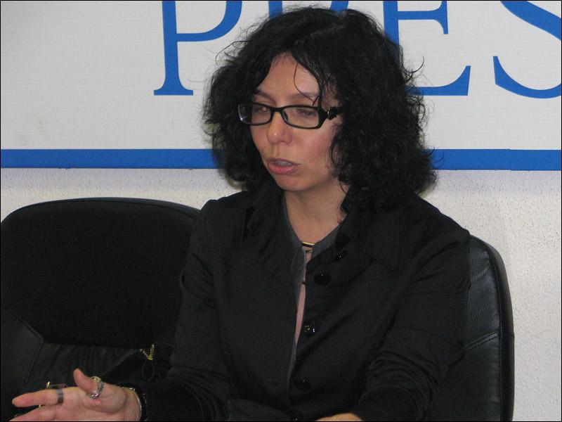 Анна Ставицкая. Фото Веры Васильевой, HRO.org