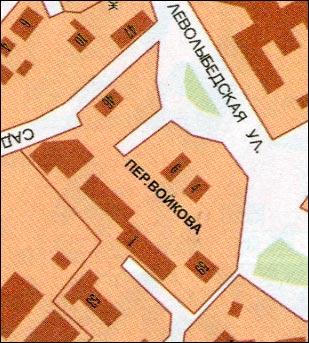 Войковский переулок в Рязани