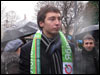 Участник митанга. Фото Веры Васильевой, HRO.org